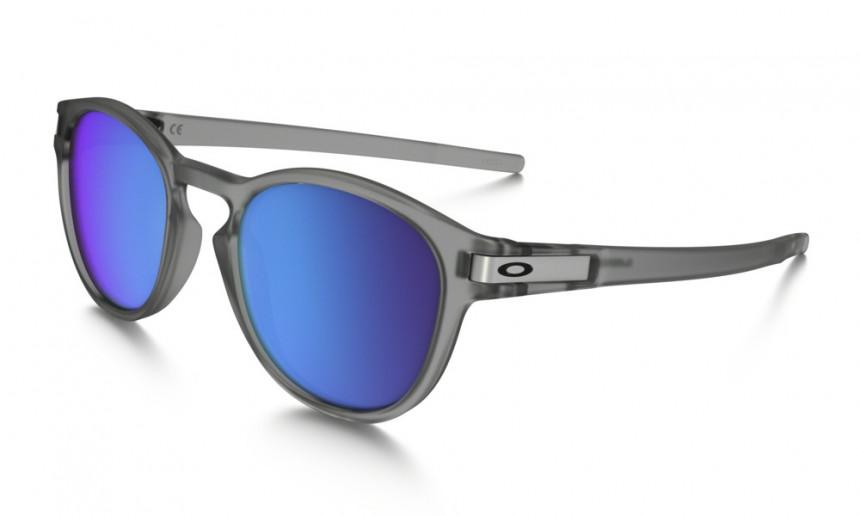 Oakley Latch Sonnenbrille Mattgrau OO9265-15 53mm 5DAmyTcw