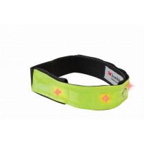 Wowow reflektierende Verschleiß schicke Bar - Gelb mit 4 roten LEDs