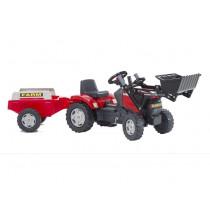 Traktor Case Set + Anhänger