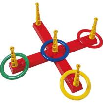 Ringwerfspiel 4 Ringe