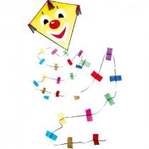 Rhombus Clown Diamond Kite Größe S