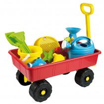 Pulling Cart mit Sand Spielzeug