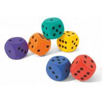 Volley Schaumstoffwürfel 16 cm, 90 g - Orange