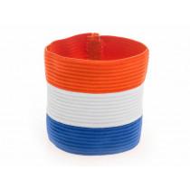 Agility Sports Captains Band Netherlands - Rot / Weiß / Blau