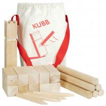 Goki Kubb Chess Game Vikings - Medium
