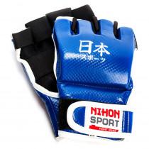 Nihon Jiujitsu Mitt - Blau - L