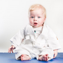 Nihon Baby Karate Gi - Weiß - 60