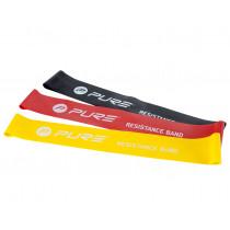 Pure2Improve Widerstand - Bänder - Set von 3