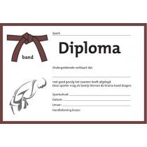 Diploma - Brown Band