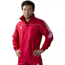 Adidas - Training Team Track - Training Jack - Rot / Weiss