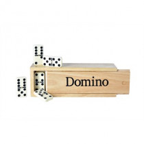 Longfield Domino Spiel 6 Large Double in Holzbox