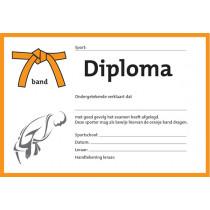 Diploma - Orange Band